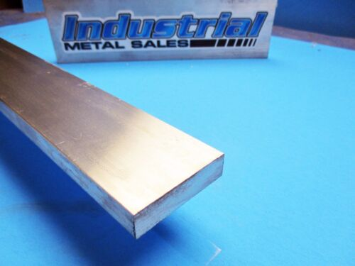"1//2/"" x 2/"" 6061 T6511 Aluminum Flat Bar x 72/""-Long--/>.500/"" x 2/"" 6061 MILL STOCK"