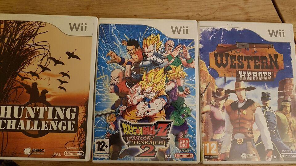 Div wii spil, Nintendo Wii