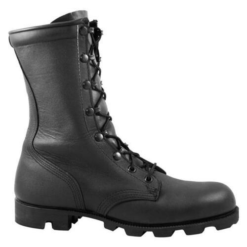 """BLACK MCRAE 8/"""" PANAMA ALL-LEATHER USA-MADE MILITARY BOOTS 6189 ALL SIZES"""
