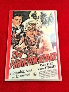 THE PHANTOM RIDER CLIFFHANGER SERIAL 12 CHAPTERS 2 DVDS