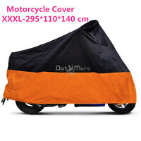 Orang Xxxl Motorcycle Outdoor Cover For Harley Electra Street Glide Ultra Custom