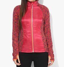 $98 Roxy Women's Carpe Viam Jacket Running Fitness Full Zip Size S