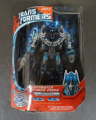 Optimus Prime Nightwatch TRANSFORMERS Advanced Automorph LEADER Class MIB