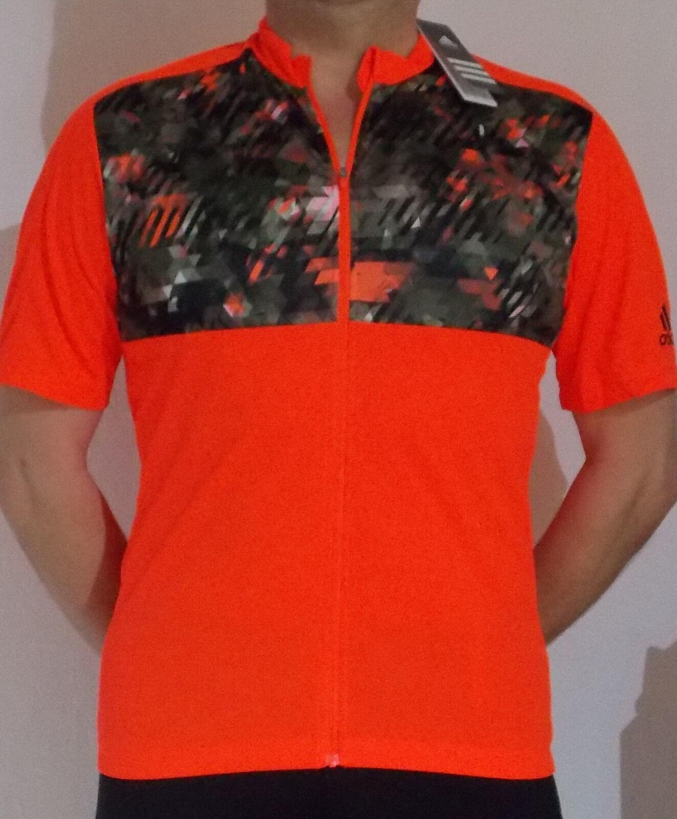 Adidas Radlertrikot Herrengröße M in Orange 37.5 Technology  TRAILRACESSJSYM