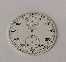 Lemania Pocket Watch Dial 44mm Approx Enamel