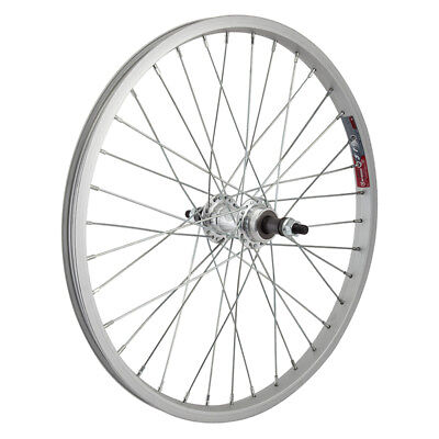 "Cassettes, Freewheels & Cogs Ambitious Wheel Master 20"" Alloy Bmx Rear Wheel 5/7-s 135mm 3/8"" Silver"