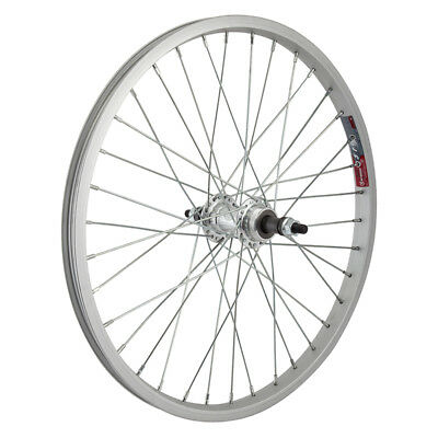 "Sporting Goods Cassettes, Freewheels & Cogs Ambitious Wheel Master 20"" Alloy Bmx Rear Wheel 5/7-s 135mm 3/8"" Silver"