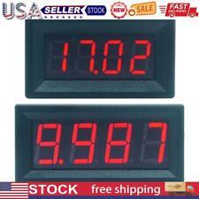 Mini Digital Led Display 4 Bits 0 100v Voltmeter Panel Volt Voltage Meter