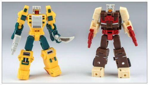 Transformers UNIQUE TOYS YM01 PALM COLLECTION Chromedome /& Weirdwolf MINI MISB