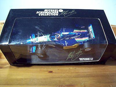 1/18 Michael Schumacher Benetton Renault B195 France Gp 1995 Campione Del Mondo-mostra Il Titolo Originale