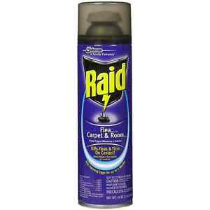 Raid Flea Killer Plus Carpet Room Spray 16 Oz Pack Of 7