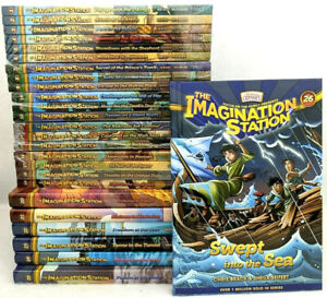 NEW Imagination Station Set of 26 Books PB HC Book Adventures in Odyssey