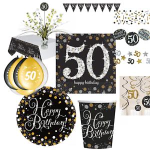 50 Geburtstag Dekoration Mit Zahl 50 Deko Runder Geburtstag Party