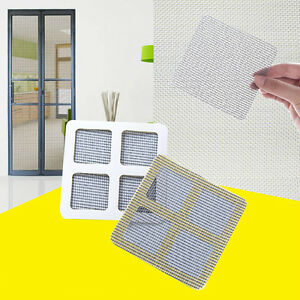 Details about Window Door Screen Net Fix Repair Sticky Patch Self Adhesive  Kit Covering Holes