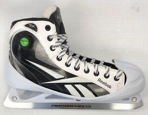 voittamaton x uusi halpa halvin Details about New Reebok 7k Hockey Goalie Skates Senior 10.5D black ice  goal skate men pump