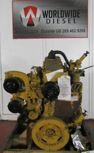 CAT-3126-Diesel-Engine-Take-Out-Good-For-Rebuild-Only