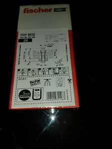 Fischer-FHY-Hollow-deck-anchor-FHY-M10-30148-box-of-20-fixings