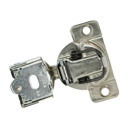 "25x Grass 108 Deg 1//4/"" Overlay Soft Close Screw Compact Cabinet Hinge 04429 A-15"