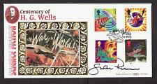 SIGNED LIMITED EDITION FDC SHANE RIMMER SCOTT TRACEY THUNDERBIRDS POSTAL COVER