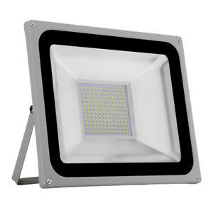 100W-LED-Fluter-Strahler-Aussen-Flutlicht-Scheinwerfer-Kaltweiss-Lampe-IP65-220V