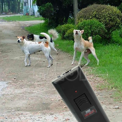Ultrasonic Anti-Bark Aggressive Dog Pet Repeller Barking Stopper Deterrent Train
