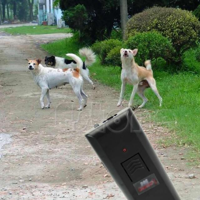 Ultrasonic Anti-Bark Aggressive Barking Stopper Train Deterrent Dog Pet Repeller