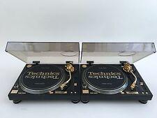 2 Technics SL1200GLD 24Karat Gold Plated LIMITED EDITION w/ Original Box