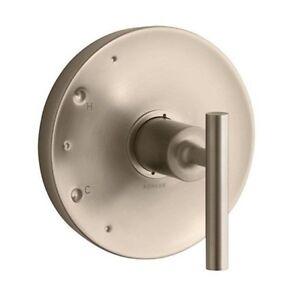 Kohler Purist K Ts14423 4 Bv Brushed Bronze Rite Temp Shower Faucet