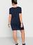 Sheego @ curvissa Plus Taille 22 Bleu Marine Dandelion Imprimé Robe Tunique Poches Summer