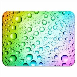 Rainbow-Multi-Coloured-Water-Droplets-Premium-Quality-Thick-Rubber-Mouse-Mat-Pad
