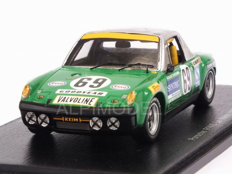 Porsche 914 6 Le Mans 1971 Quist - Krumm 1 43 SPARK S7508