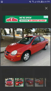 Dodge Neon Reliable Used for Edmonton and back.