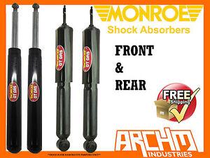 HOLDEN-VQ-SEDAN-3-90-9-94-F-R-MONROE-GT-GAS-SHOCK-ABSORBERS