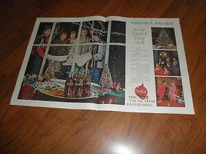 COCA-COLA-CHRISTMAS-AD-1959-Original-Magazine-Print