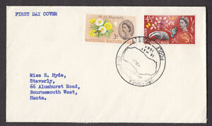 1963-NATURE-WEEK-SET-OF-2-SG637-8-ON-PLAIN-FDC-WITH-BROWNSEA-ISLAND-CANCEL