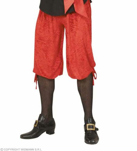 Kniebundhose Rot Aus Samt