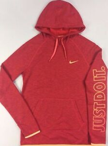 Women-039-s-Nike-Therma-Dri-Fit-Lightweight-Athletic-Hoodie-Size-XS