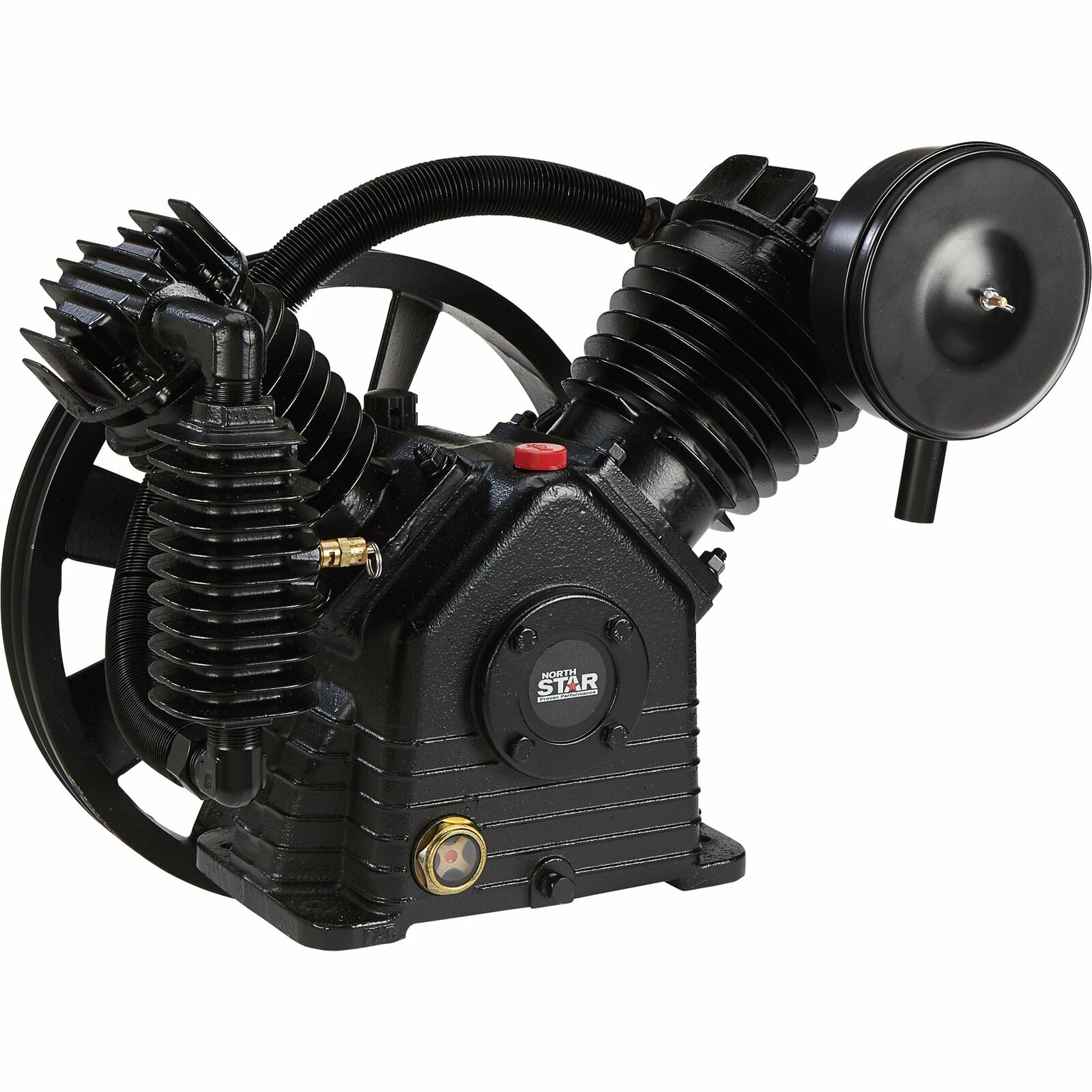 NorthStar Air Compressor Pump - 2-Stage 2-Cylinder 24.4 CFM @ 90 PSI 175 Max PSI. Buy it now for 599.99