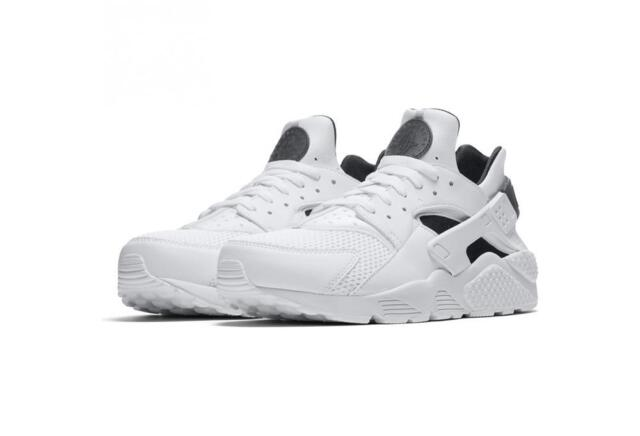 release date: 3dd3c bea4c NIKE AIR HUARACHE 318429 110 WHITE BLACK PURE PLATINUM GREY