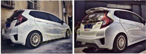 Rear Factory Style Wing Spoiler for 14-17 Honda Fit Jazz Hatchback GK5 RS LED