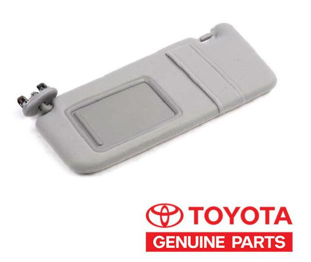Genuine Toyota Rav4 2004-2005 LH Driver s Side Gray Sun Visor OEM ... 2b9e853f6e4