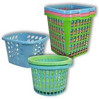 Wäschekorb Wäschesammler Behälter Korb Plastik Aufbewahrung Kunststoffbehälter