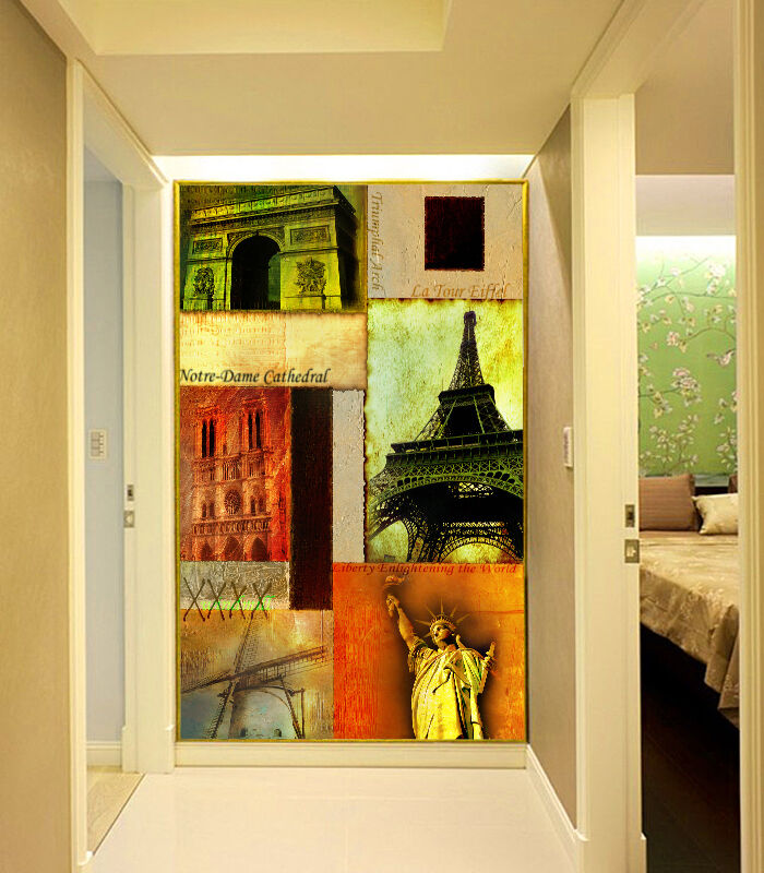 3D Monuments 9076 Wall Paper Wall Print Decal Wall Deco Wall Indoor Murals