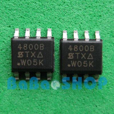 50PCS 4800B SI4800B SI4800BDY 30V//9A N-Channel MOSFET SI4800BDY-T1-E3 SOP8