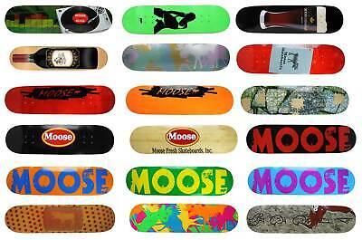 Moose Blank Skateboard Deck Natural Standard 7.63