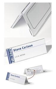 Tischaufsteller-dachform-2 Größen-plexiglas-klar-schild-tischschild-namensschild Eine Lange Historische Stellung Haben Türschilder