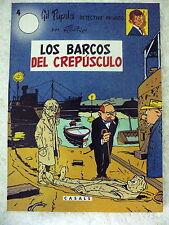 Gil Pupila num.4 Los Barcos del Crepusculo,M.Tillieux,Editorial Casals 1987