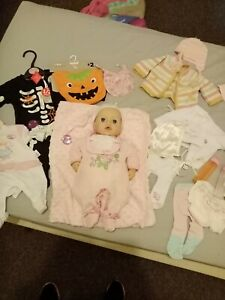 Baby annabell doll bundle interactive doll pee doll ...