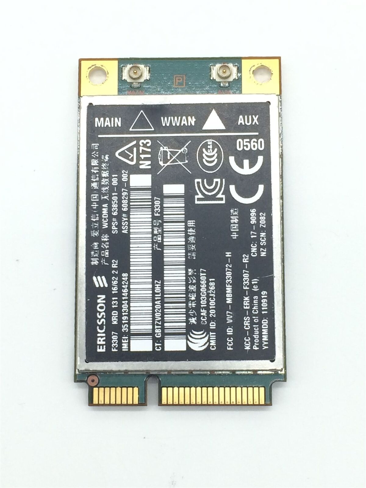 F3307 MOBILE BROADBAND DRIVER FOR PC