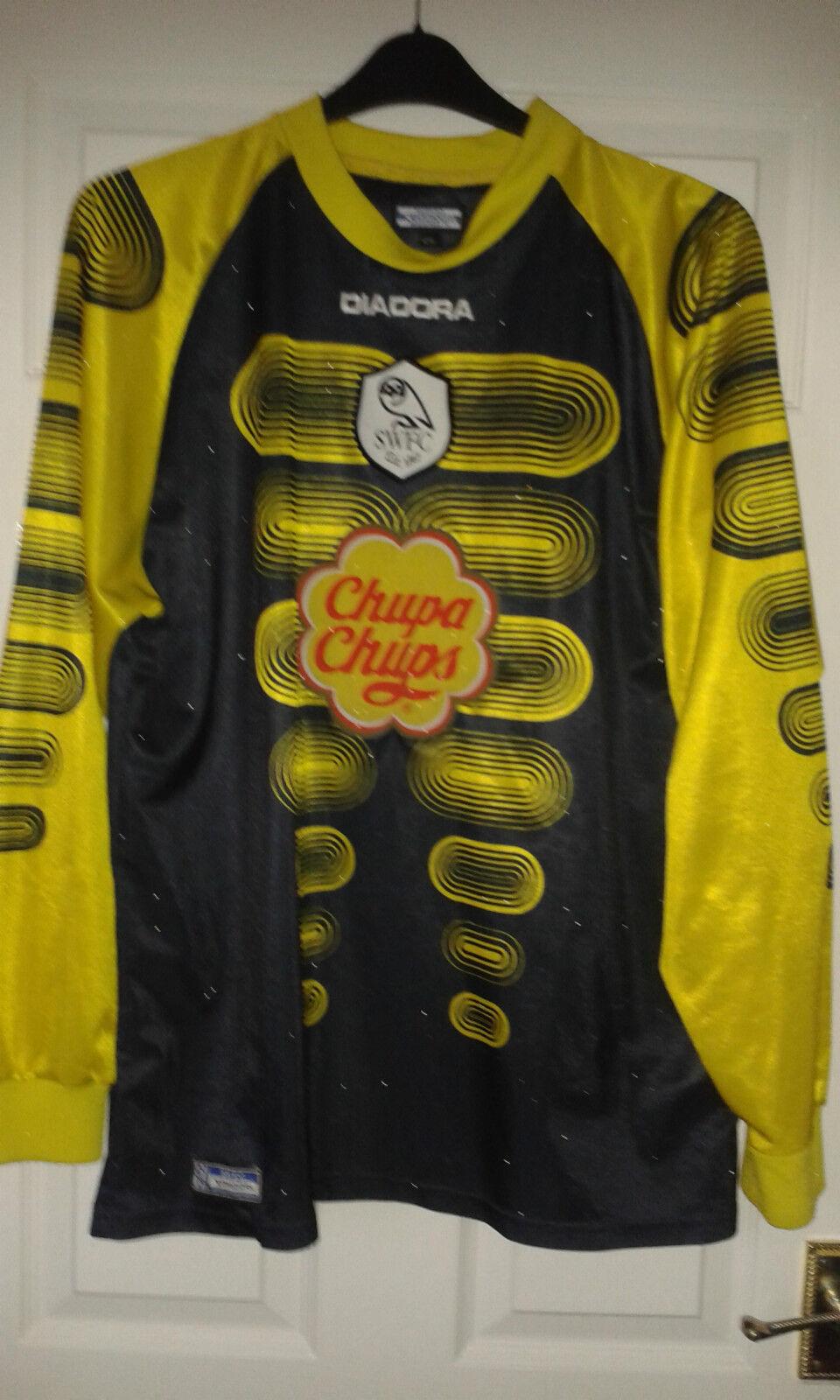 Camicia calcio da uomoSheffield WednesdayPORTIERE DIADORA 2001  42RARO